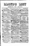 Lloyd's List Monday 16 August 1880 Page 1