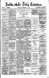 Huddersfield Daily Examiner Monday 10 September 1894 Page 1