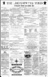 Aberystwyth Times Saturday 28 August 1869 Page 1