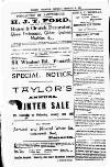 Penarth Chronicle and Cogan Echo Saturday 25 February 1893 Page 10
