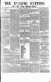 Express and Echo Wednesday 05 December 1866 Page 1