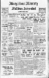 Marylebone Mercury Saturday 10 February 1940 Page 1