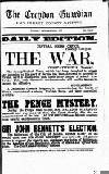 Croydon Guardian and Surrey County Gazette Tuesday 25 September 1877 Page 1