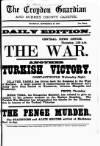 Croydon Guardian and Surrey County Gazette Thursday 27 September 1877 Page 1