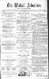 Walsall Advertiser Tuesday 08 April 1879 Page 1