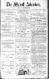 Walsall Advertiser Saturday 12 April 1879 Page 1
