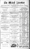 Walsall Advertiser Tuesday 22 April 1879 Page 1
