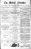 Walsall Advertiser Tuesday 06 May 1879 Page 1