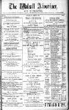 Walsall Advertiser Saturday 28 June 1879 Page 1