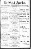 Walsall Advertiser Tuesday 29 July 1879 Page 1