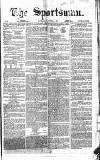 The Sportsman Saturday 04 November 1865 Page 1