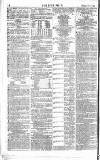 The Sportsman Saturday 11 November 1865 Page 8