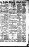 Doncaster Gazette Friday 14 October 1870 Page 1
