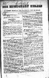 Missionary Herald of the Presbyterian Church in Ireland Monday 01 January 1855 Page 1