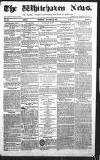 Whitehaven News Thursday 19 November 1857 Page 1