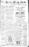 North Devon Gazette Tuesday 21 January 1896 Page 1