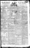 Public Ledger and Daily Advertiser Friday 04 January 1805 Page 1