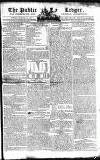 Public Ledger and Daily Advertiser Monday 14 January 1805 Page 1