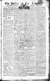 Public Ledger and Daily Advertiser Saturday 14 June 1806 Page 1