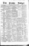 Public Ledger and Daily Advertiser Tuesday 27 December 1870 Page 1