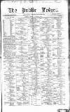 Public Ledger and Daily Advertiser Tuesday 03 October 1871 Page 1