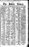 Public Ledger and Daily Advertiser Saturday 07 November 1885 Page 1