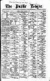 Public Ledger and Daily Advertiser Monday 24 October 1887 Page 1