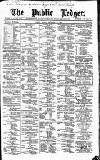 Public Ledger and Daily Advertiser Friday 13 September 1889 Page 1