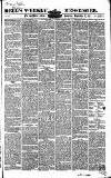 Bell's Weekly Messenger Saturday 12 September 1857 Page 1