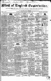 Western Courier, West of England Conservative, Plymouth and Devonport Advertiser Wednesday 01 March 1837 Page 1