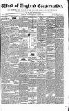 Western Courier, West of England Conservative, Plymouth and Devonport Advertiser Wednesday 22 March 1837 Page 1