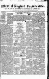 Western Courier, West of England Conservative, Plymouth and Devonport Advertiser Wednesday 19 April 1837 Page 1