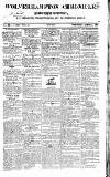 Wolverhampton Chronicle and Staffordshire Advertiser Wednesday 14 April 1830 Page 1