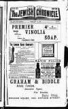 Jewish Chronicle Friday 14 February 1896 Page 1