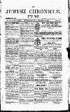 Jewish Chronicle Friday 20 March 1896 Page 3