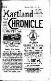Hartland and West Country Chronicle Tuesday 03 January 1905 Page 1