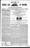 Leamington Advertiser, and Beck's List of Visitors