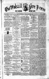 Walsall Free Press and General Advertiser Saturday 08 November 1856 Page 1