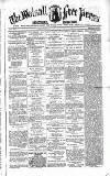 Walsall Free Press and General Advertiser Saturday 22 November 1856 Page 1