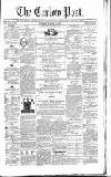 Carlow Post Saturday 27 January 1872 Page 1