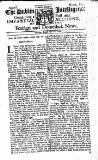 Dublin Intelligence Sat 27 Aug 1709 Page 1