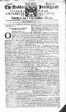 Dublin Intelligence Tue 14 Mar 1710 Page 1