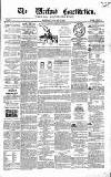 Wexford Constitution Wednesday 13 January 1864 Page 1