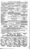 Army and Navy Gazette Saturday 02 August 1884 Page 12