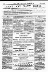 Army and Navy Gazette Saturday 08 November 1884 Page 12