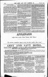 Army and Navy Gazette Saturday 07 November 1885 Page 10