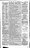 Army and Navy Gazette Saturday 07 November 1885 Page 12
