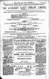Army and Navy Gazette Saturday 06 February 1886 Page 16