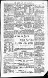 Army and Navy Gazette Saturday 06 March 1886 Page 15
