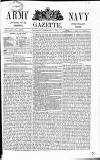 Army and Navy Gazette